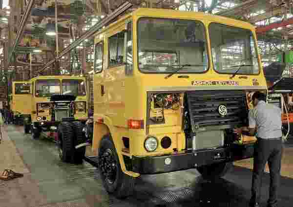为未来的公共汽车开发新的模块化平台,卡车:ashok leyland.