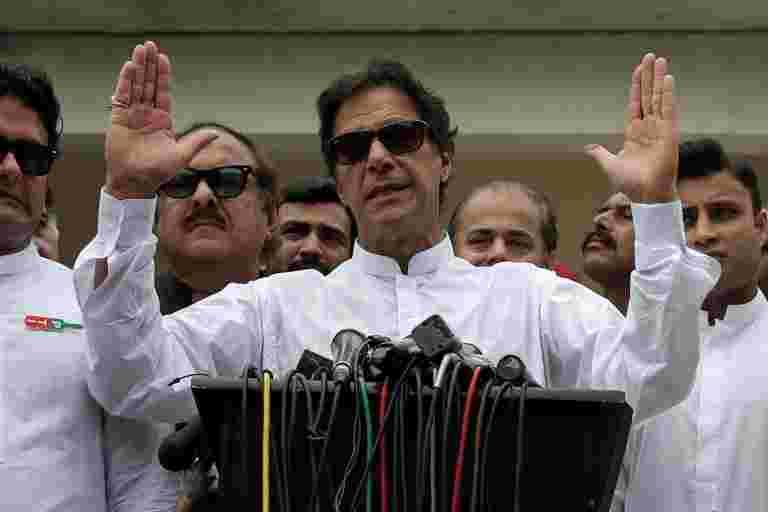 巴基斯坦立法者选出Imran Khan成为新总理
