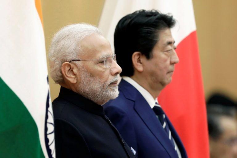 印度,日本开始2 + 2部长级对话